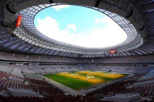 На стадионе «Лужники» 4 октября пройдет митинг-концерт. Фото: «Вечерняя Москва»