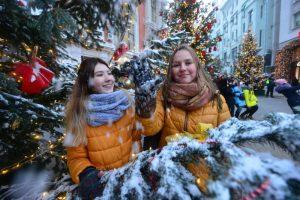 Жители столицы выбрали мероприятия фестиваля «Путешествие в Рождество». Фото: «Вечерняя Москва»