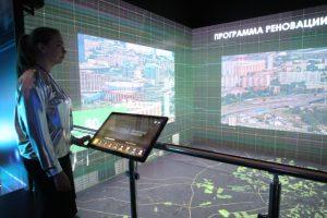 Выставка проектов финалистов конкурса реновации открылась в Москве. Фото: Антон Гердо, «Вечерняя Москва»