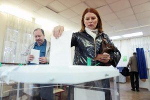 Правила голосования на избирательном участке на выборах президента России. Фото: архив, «Вечерняя Москва»