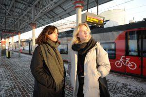 Новая платформа соединит МЦК и Курское направление железной дороги. Фото: Светлана Колоскова, «Вечерняя Москва»