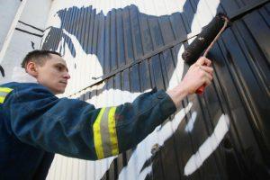 Фасад подстанции «Никитская» привели в порядок. Фото: Антон Гердо, «Вечерняя Москва»