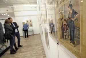 Выставка живописных работ открылась в районе. Фото: Пелагия Замятина, «Вечерняя Москва»