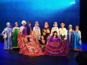 Участники ансамбля «Калина» районного центра соцобслуживания проведут репетиции. Фото предоставил ансамбль «Калина»