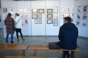 Выставка московской фэнтези-художницы открылась в музее Александра Скрябина. Фото: архив «Вечерняя Москва»