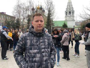Заместитель главы управы района по работе с населением Юрий Нечаев. Фото: Анастасия Аброськина