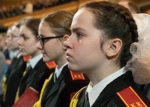 Кадеты школы №1231 начали подготовку к параду. Фото: официальный сайт мэра Москвы