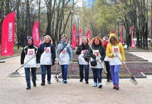 Субботники организуют в 76 местах Центрального округа. Фото: официальный сайт мэра Москвы