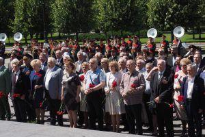 Акцию «Вахта памяти» организуют в Центральном округе. Фото: Антон Гердо, «Вечерняя Москва»