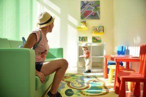 Ремонт организуют в дошкольном отделении школы №1231 имени Поленова. Фото: Пелагия Замятина, «Вечерняя Москва»