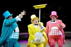 Клоуны пройдут по Бульварному кольцу 14 сентября. Фото: архив, «Вечерняя Москва»