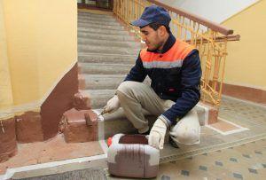 Ремонтные работы проведут в жилом доме на территории района. Фото: Наталия Нечаева, «Вечерняя Москва»