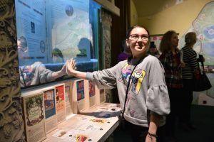 Ученики районной школы посетили музей в рамках олимпиады. Фото: Пелагия Замятина, «Вечерняя Москва»
