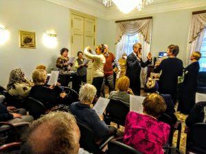 Концерт классической музыки состоится в районном центре социального обслуживания. Фото предоставили в ТЦСО «Арбат»