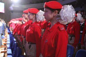 В параде 7 ноября примут участие около тысячи кадет и юнармейцев Москвы. Фото: Алексей Орлов, «Вечерняя Москва»