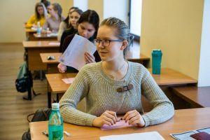 Встречу со специалистом провели для учеников районной школы. Фото: сайт мэра Москвы