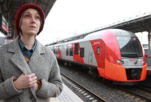 Количество пассажиров МЦК в октябре достигло рекордного количества. Фото: Наталия Нечаева, «Вечерняя Москва»