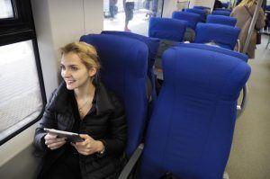 Москвичи смогут проголосовать за «вагоны тишины» в поездах МЦК. Фото: Антон Гердо, «Вечерняя Москва»