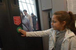 Рекордное число человек воспользовались МЦК 29 ноября. Фото: Александр Казаков, «Вечерняя Москва»