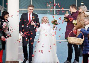 В столичных ЗАГСах в последний день года заключат брак более 470 пар. Фото: Пелагия Замятина, «Вечерняя Москва»