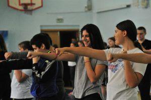 Ученики школы №1234 поучаствуют в соревновании. Фото: Пелагия Замятина, «Вечерняя Москва»