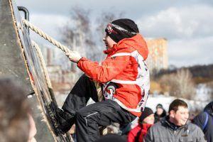 Москвичи поучаствовали в новогодней фитнес-зарядке в районе. Фото: Михаил Подобед
