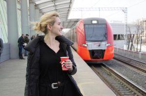 Количество пассажиров на МЦК на новогодних праздник вырос до 1,7 миллиона человек. Фото: Антон Гердо, «Вечерняя Москва»