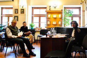Презентацию книг в рамках научного семинара проведут в Доме Лосева. Фото: Никита Нестеров
