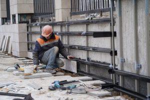 Первый этап реставрации кинотеатра «Художественный» на Арбатской площади завершен. Фото: Денис Кондратьев