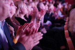 Церемония награждения лауреатов конкурса «Общественное признание» состоялась в Москве. Фото: Денис Кондратьев