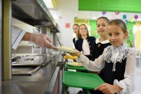 Исследование ВЦИОМ: Большинство москвичей довольны питанием детей в школах. Фото: Пелагия Замятина, «Вечерняя Москва»