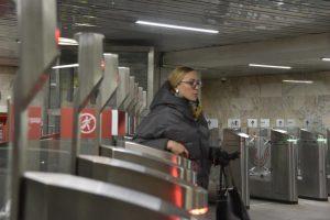 Станцию «Смоленская» Арбатско-Покровской линии закроют на ремонт. Фото: Пелагия Замятина, «Вечерняя Москва»