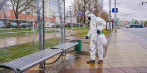 Москвичам рассказали о дезинфекции станций МЦК
