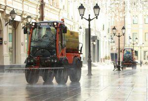 Более ста дворовых территорий продезинфицируют в районе. Фото: Наталия Нечаева,«Вечерняя Москва»