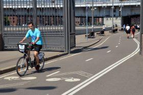 Жителям столицы рассказали о работе велоинфраструктуре в Москве