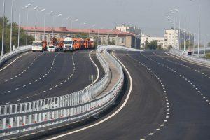 С начала года в Москве построено и введено в эксплуатацию 44 км дорог. Фото: Владимир Новиков, «Вечерняя Москва»