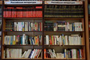 Книги в библиотеке в «Доме Гоголя» теперь можно получить по Единому читательскому билету. Фото: Анна Быкова