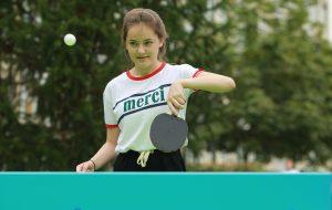 Авторский ролик по настольному теннису опубликовали сотрудники филиала «Наш Арбат»