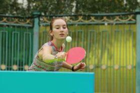 Дистанционный урок по настольному теннису провели в филиале «Наш Арбат»