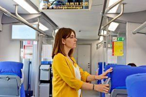 Почти 500 миллионов пассажиров проехали по МЦК за четыре года. Фото: Пелагия Замятина, «Вечерняя Москва»