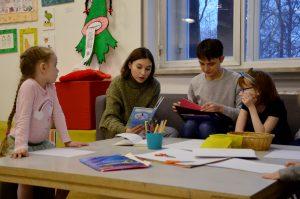 Интеллектуальную игру «Юный исследователь» организуют в Доме Гоголя. Фото: Анна Быкова