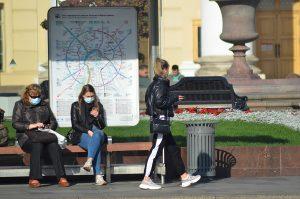 Бауманка закрыта из-за нарушений мер профилактики и роста случаевCOVID-19. Фото: Анна Быкова
