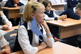 Игру по русскому языку провели для учеников школы №1234. Фото: Анна Быкова