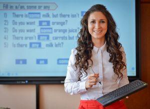 Почти полмиллиона онлайн-уроков провели учителя за неделю. Фото: Наталья Феоктистова, «Вечерняя Москва»
