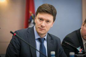 Депутат парламента Москвы Александр Козлов