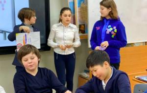 Представители школы №1234 провели интерактивный урок. Фото с сайта школы