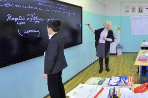 Ученики кадетского класса школы №1231 приняли участие в историческом уроке. Фото: сайт мэра Москвы