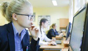 Для московских школьников запустили проект по подготовке к экзаменам. Фото: сайт мэра Москвы