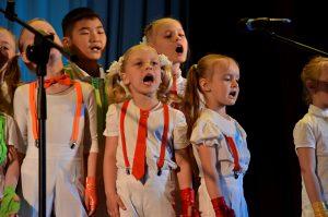 Учеников школы №1234 поздравили с участием во всероссийском фестивале. Фото: Анна Быкова