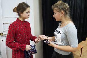 Урок в рамках кружка пантомимы проведут сотрудники филиала «Наш Арбат». Фото: Павел Волков, «Вечерняя Москва»
